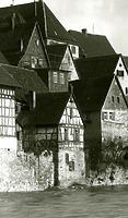 Westseite um 1930 / Wohnhaus in 74354 Besigheim (Stadtarchiv Besigheim)