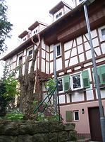 Südwestseite / Wohnhaus in 74354 Besigheim (Denkmalpflegerischer Werteplan,  Gesamtanlage Besigheim  Regierungspräsidium Stuttgart)