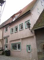 Ansicht von Norden / Wohnhaus mit Scheune in 74354 Besigheim (2007 - Denkmalpflegerischer Werteplan, Gesamtanlage Besigheim, Regierungspräsidium Stuttgart)