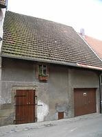 Nordseite / Scheune  in 74354 Besigheim (Denkmalpflegerischer Werteplan,  Gesamtanlage Besigheim  Regierungspräsidium Stuttgart)