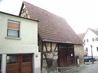 Ostseite / Scheune in 74354 Besigheim (Denkmalpflegerischer Werteplan,  Gesamtanlage Besigheim  Regierungspräsidium Stuttgart)