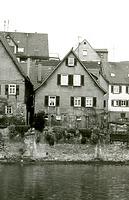 Westseite um 1960 / Wohnhaus in 74354 Besigheim (Stadtarchiv Besigheim)