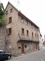 Ansicht von Nordwest / Wohnhaus in 74354 Besigheim (2007 - Denkmalpflegerischer Werteplan, Gesamtanlage Besigheim, Regierungspräsidium Stuttgart)