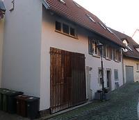 Ansicht von Osten / Wohnhaus mit Scheune in 74354 Besigheim (2016 - M. Haußmann)