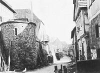 Historische Aufnahme von Norden / Keltertürmle in 74354 Besigheim (Denkmalpflegerischer Werteplan, Gesamtanlage Besigheim, Regierungspräsidium Stuttgart)