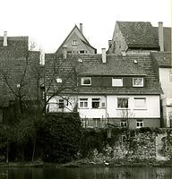 Ansicht von der Enz - von Westen / Wohnhaus in 74354 Besigheim (Stadtarchiv Besigheim)