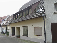 Ansicht von Norden / Wohnhaus, vormals Scheune in 74354 Besigheim (2016 - M. Haußmann)