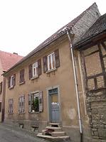 Ansicht von Westen / Wohnhaus in 74354 Besigheim (2007 - Denkmalpflegerischer Werteplan, Gesamtanlage Besigheim, Regierungspräsidium Stuttgart)