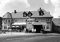 """Anischt von Süden / Hotel und Restaurant """"Ortel"""" in 74354 Besigheim (Stadtarchiv Besigheim)"""