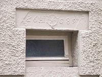 Hausstein mit Bezeichnung / Wohnhaus in 74354 Besigheim (2007 - Denkmalpflegerischer Werteplan, Gesamtanlage Besigheim, Regierungspräsidium Stuttgart)