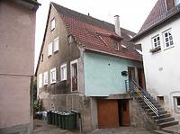 Giebelseite von Osten / Wohnhaus, Untere Enzmühle (Schellenmühle) in 74354 Besigheim (2007 - Denkmalpflegerischer Werteplan, Gesamtanlage Besigheim, Regierungspräsidium Stuttgart)