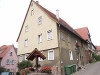 Anischt von Südost / Wohnhaus in 74354 Besigheim (2007 - Denkmalpflegerischer Werteplan, Gesamtanlage Besigheim, Regierungspräsidium Stuttgart)