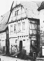 Historische Aufnahme, Ansicht von Nordost / Wohnhaus, Weingärtnerhaus in 74354 Besigheim (Denkmalpflegerischer Werteplan, Gesamtanlage Besigheim, Regierungspräsidium Stuttgart)