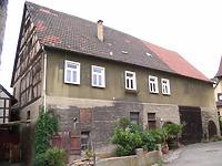 Ansicht von Osten / Wohnhaus und Scheune, Einhaus in 74354 Besigheim (2007 - Denkmalpflegerischer Werteplan, Gesamtanlage Besigheim, Regierungspräsidium Stuttgart)