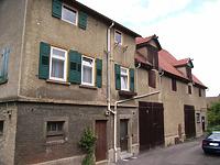 Ansicht von Süden / Wohnhaus mit Doppelscheune in 74354 Besigheim (2007 - Denkmalpflegerischer Werteplan, Gesamtanlage Besigheim, Regierungspräsidium Stuttgart)