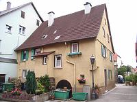 Südseite des Anwesens / Wohnhaus, Weingärtnerhaus in 74354 Besigheim (2007 - Denkmalpflegerischer Werteplan, Gesamtanlage Besigheim, Regierungspräsidium Stuttgart)