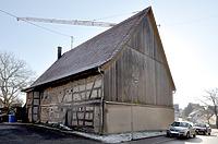 Ansicht West / Historischer Einfirsthof in 72336 Balingen, Ostdorf (24.02.2016 - strebewerk. Architekten GmbH)