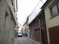 Südabschnitt Richtung Hauptstraße    / Vorstadt in 74354 Besigheim (2007 - Denkmalpflegerischer Werteplan,  Gesamtanlage Besigheim  Regierungspräsidium Stuttgart)