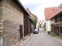 Vorstadt Mittelabschnitt, Richtung Süden Bereich .  / Vorstadt in 74354 Besigheim (2007 - Denkmalpflegerischer Werteplan,  Gesamtanlage Besigheim  Regierungspräsidium Stuttgart)