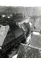 Südabschnitt aus Richtung Hauptstraße um 1960 / Vorstadt in 74354 Besigheim (Stadtarchiv Besighein)