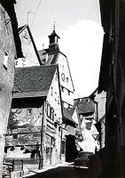 Südabschnitt Richtung Hauptstraße  um 1950 / Vorstadt in 74354 Besigheim (Stadtarchiv Besigheim)