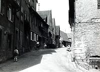 Nördliche Vorstadt Richtung Osten  um 1950 / Vorstadt in 74354 Besigheim (Stadtarchiv Besigheim)