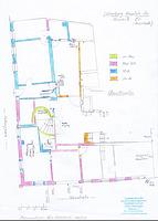 Hauptstraße 70, Bauphasenplan EG / Rückgebäude in 77852 Offenburg ( Bauforschung   Lohrum, B. und Bleyer, H.-J. (Ingenieurbüro für Hausforschung, Datierung, Bauaufnahme)    )