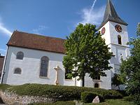 Kath. Kirche Mariä Himmelfahrt in 79771 Klettgau-Bühl (09.06.2009 - Klaus Rombach, WT-Tiengen)