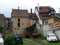 Wohnhaus (Laubengang) in 78464 Konstanz (17.10.2016 - Löbbecke)