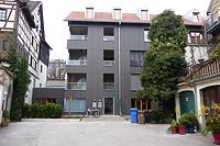 Westansicht Gebäudeteil St. Stephansplatz 31 / Wohnhaus in 78462 Konstanz (23.12.2016 - Christin Aghegian-Rampf)