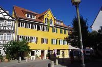 Südostansicht / vmtl. Bürgerhaus in 72070 Tübingen (21.09.2019 - Christin Aghegian-Rampf)