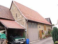 Ansicht von Süden / Scheune in 74354 Besigheim (2007 - Denkmalpflegerischer Werteplan, Gesamtanlage Besigheim, Regierungspräsidium Stuttgart)