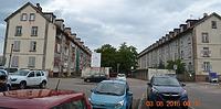 Ehem. Arbeiterwohnungen der Spinnerei in 77852 Offenburg (Bernd Baldszuhn)