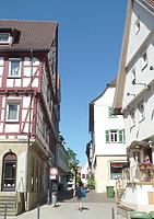 Ansicht von Westen, von der Hauptstraße / Aiperturmstraße in 74354 Besigheim (2017 - M. Haußmann)