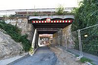 EÜ Heilbronn Schillerstraße, Ansicht von Südwesten / Eisenbahnüberführung Schillerstraße in 74076 Heilbronn (August 2020 - strebewerk. Architekten GmbH)
