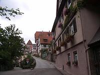 Ansicht von Norden / Oberamteigasse in 74354 Besigheim (2007 - Denkmalpflegerischer Werteplan, Gesamtanlage Besigheim, Regierungspräsidium Stuttgart )