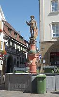 Brunnen auf dem Marktplatz / Marktplatz in 74354 Besigheim (2017 - M.Haußmann)
