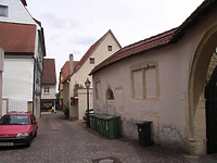 Ansicht von Südwest / Amtsgerichtsgasse in 74354 Besigheim (2007 - Denkmalpflegerischer Werteplan, Gesamtanlage Besigheim, Regierungspräsidium Stuttgart)