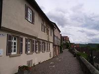 Abschnitt an der Mauer (Westseite) / Auf der Mauer in 74354 Besigheim (2007 - Denkmalpflegerischer Werteplan, Gesamtanlage Besigheim, Regierungspräsidium Stuttgart)