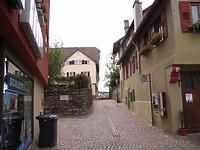 Abschnitt Quergasse zur Kirchstraße / Auf der Mauer in 74354 Besigheim (Denkmalpflegerischer Werteplan, Gesamtanlage Besigheim, Regierungspräsidium Stuttgart)