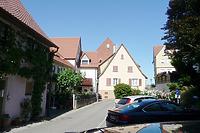 Nördlicher Bereich, Blick von Westen aus der Entengasse / Bühl in 74354 Besigheim (2017 - M. Haußmann)
