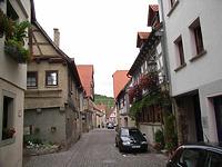 Mittelteil in Richtung Norden / Entengasse in 74354 Besigheim (2007 - Denkmalpflegerischer Werteplan, Gesamtanlage Besigheim, Regierungspräsidium Stuttgart)