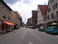 Ansicht von Norden, mittlerer Straßenverlauf / Hauptstraße in 74354 Besigheim (2007 - Denkmalpflegerischer Werteplan, Gesamtanlage Besigheim, Regierungspräsidium Stuttgart)