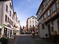 Mittlerer Bereich von Nordwesten / Kirchstraße in 74354 Besigheim (2007 - Denkmalpflegerischer Werteplan, Gesamtanlage Besigheim, Regierungspräsidium Stuttgart)
