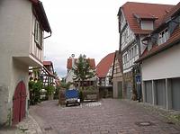 Türkengasse vor der Aufgabelung, links Nr. 5, rechts Nr. 6  / Türkengasse in 74354 Besigheim (2007 - Denkmalpflegerischer Werteplan,  Gesamtanlage Besigheim  Regierungspräsidium Stuttgart)