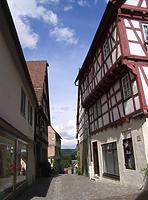 Blick nach Osten / Stadtschreibereigasse in 74354 Besigheim (2007 - Denkmalpflegerischer Werteplan,  Gesamtanlage Besigheim  Regierungspräsidium Stuttgart)