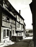 Blick nach Osten um 1900 / Stadtschreibereigasse in 74354 Besigheim (Stadtarchiv Besigheim)