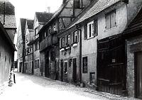 Bereich Schlossgasse Nr. 5, 3,1,  um 1960 / Schlossgasse in 74354 Besigheim (Stadtarchiv Besigheim)
