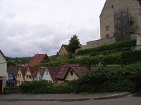 Gesamtansicht von Osten / Ochsengraben  in 74354 Besigheim (2007 - Denkmalpflegerischer Werteplan,  Gesamtanlage Besigheim  Regierungspräsidium Stuttgart)