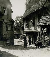 im Bereich Mühlgasse Nr. 12, 13   um 1900 / Mühlgasse in 74354 Besigheim (Stadtarchiv Besigheim)